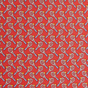 Tennis Racket Print Tie, ${color}