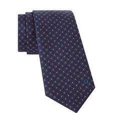 Textured Square Pattern Tie