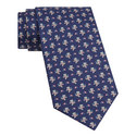American Football Bear Print Tie, ${color}