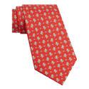 American Football Bear Print Tie, ${color}