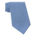 Leaping Hare Print Tie, ${color}