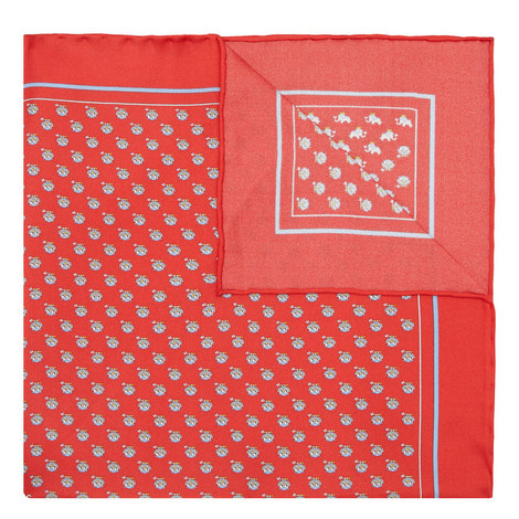 Mixed Print Pocket Square, ${color}