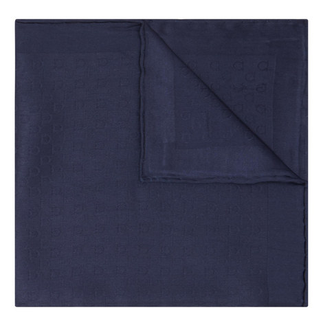 Textured Silk Pocket Square, ${color}