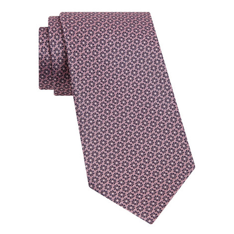 Ribbed Floral Tie, ${color}