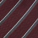 Twin Stripe Silk Tie, ${color}