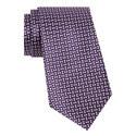Tile Pattern Silk Tie, ${color}