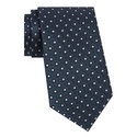 Square Link Silk Tie, ${color}