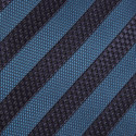 Textured Stripe Silk Tie, ${color}