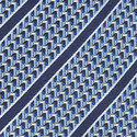 Fine Stripe Silk Tie, ${color}