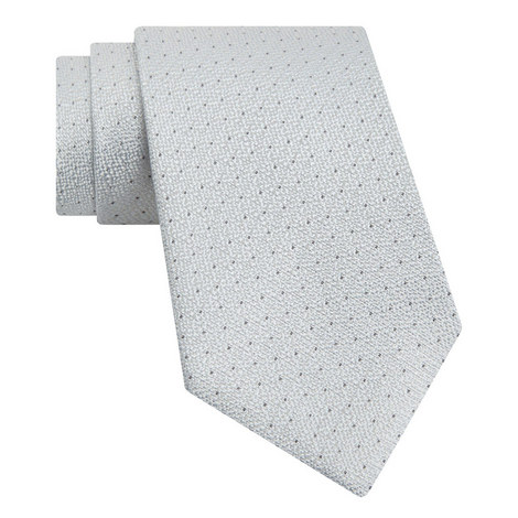 Textured Dot Pattern Tie , ${color}