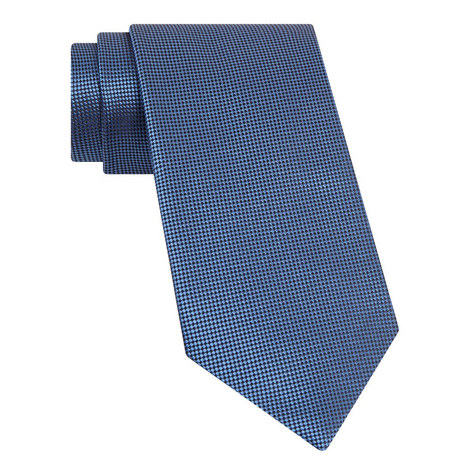 Micro-Diamond Silk Tie, ${color}