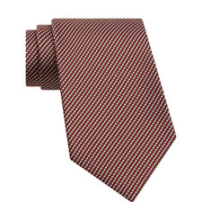 Micro-Oval Pattern Tie