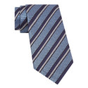Striped Textured Tie , ${color}
