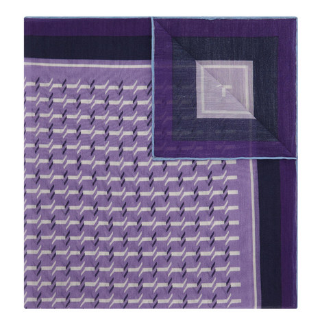 Contemporary Pattern Pocket Square, ${color}