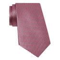 Square Pattern Silk Tie, ${color}