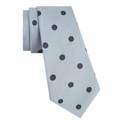Polka Dot Twill Tie, ${color}