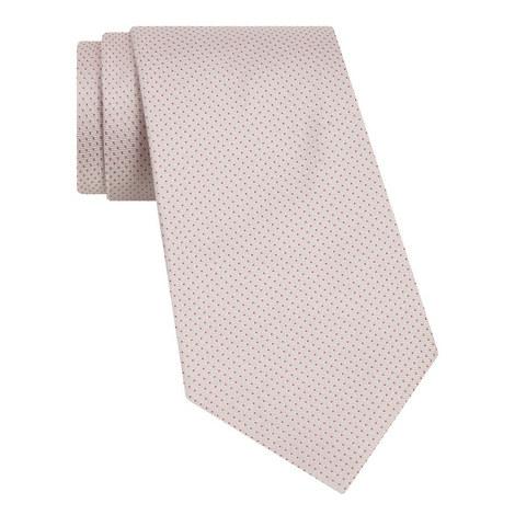 Ribbed Pin Dot Tie, ${color}