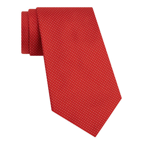 Ribbed Pin Dot Tie, ${color}
