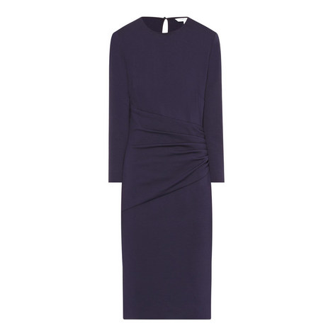 Glennie Fitted Dress, ${color}