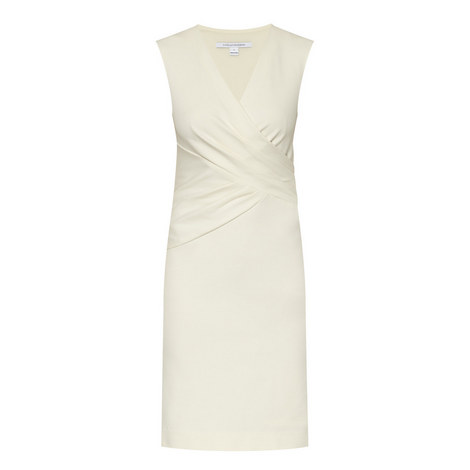 Leora Sleeveless Fitted Dress, ${color}