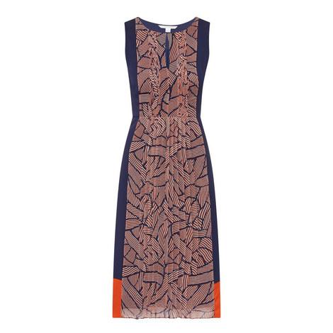 Aubriana Pleat Dress, ${color}