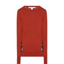 Anaya Lace Knitted Sweater