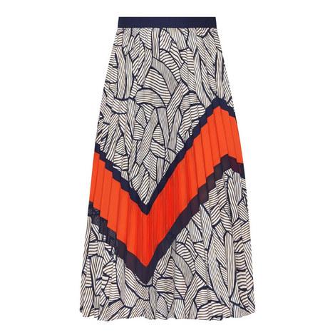 Saphira Patterned Skirt, ${color}