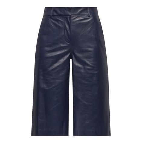 Asheton Leather Shorts, ${color}