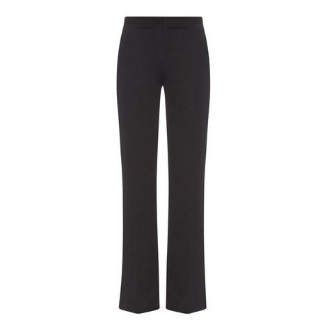 Katara Stretch-Silk Trousers, ${color}