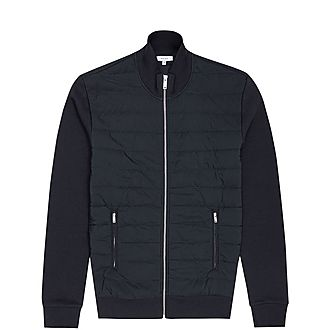 Felix Quilted Zip-Through Sweater