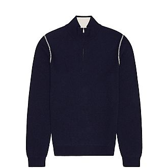 Luis Ribbed Neck Sweater
