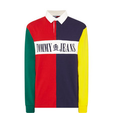 Colour-Block Rugby Shirt