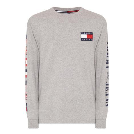 Flag Motif T-Shirt, ${color}