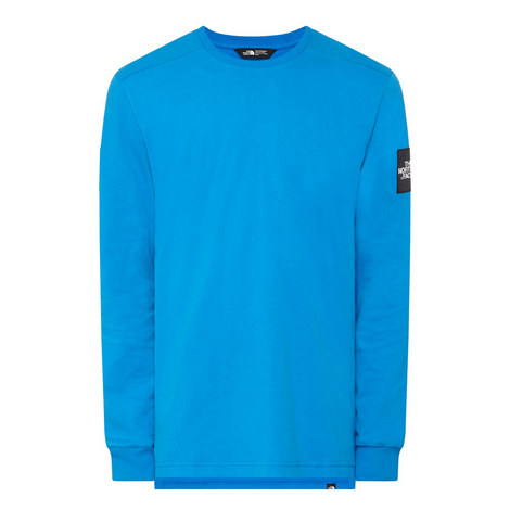 Long Sleeves Crew Neck T-Shirt, ${color}