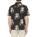 Skull Snakeskin Bowling Shirt, ${color}