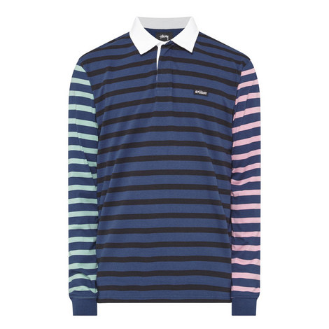 Stripe Rugby Jersey, ${color}