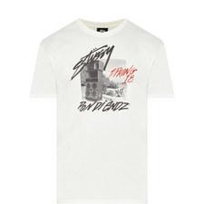 Pon Di Endz Print T-Shirt