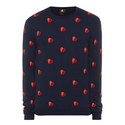 Heart Print Wool Sweater, ${color}