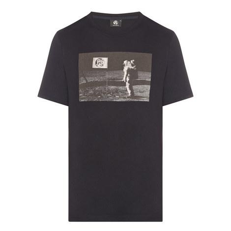 Spaceman Print T-Shirt, ${color}