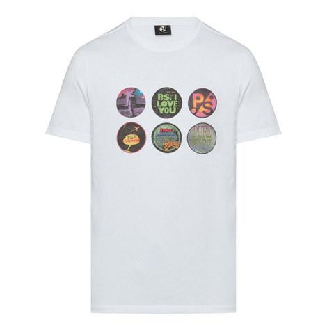Badge Print Cotton T-Shirt, ${color}