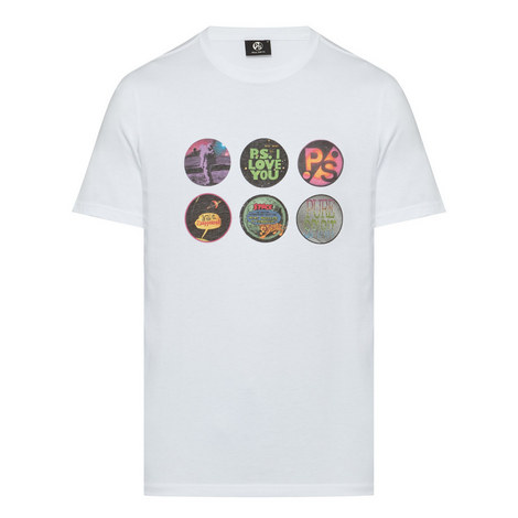 Badge Print Cotton T-Shirt, ${color}