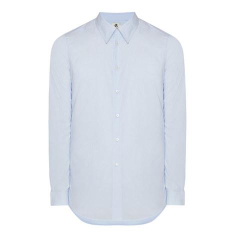 Tailored Poplin Shirt, ${color}