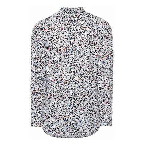 Hole Punch Print Shirt, ${color}