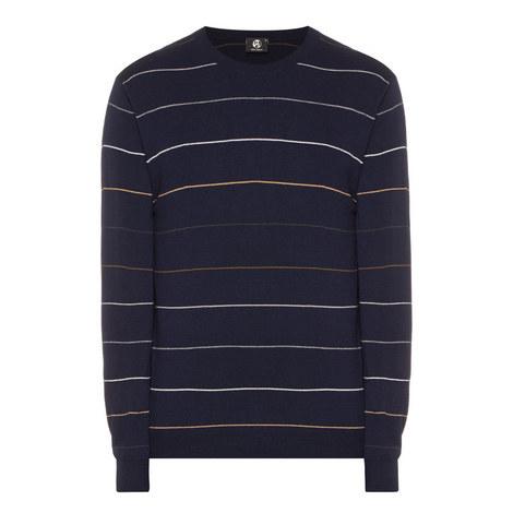 Stripe Merino Wool Sweater, ${color}