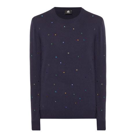Crew Knit Spot Sweater, ${color}