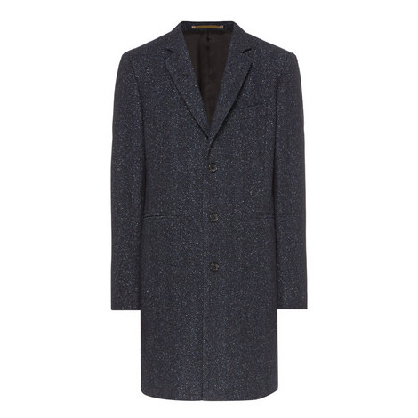 Single Breasted Epsom Coat, ${color}