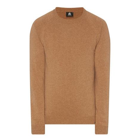 Lambswool Crew Neck Sweatshirt, ${color}