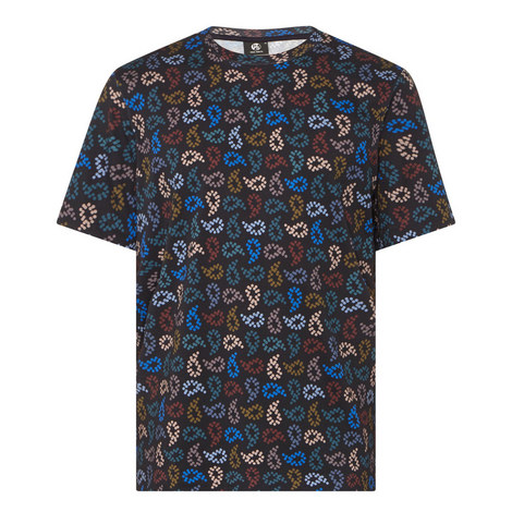 Paisley Dot Print T-Shirt, ${color}