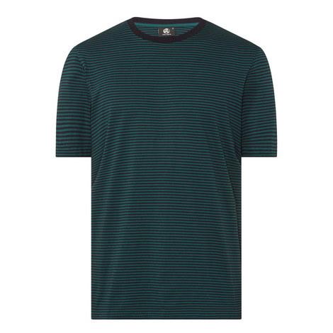 Pima Cotton Stripe T-Shirt, ${color}