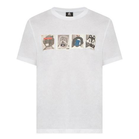 Mascots Print T-Shirt, ${color}